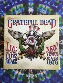 Grateful Dead New Years Eve 1976 Cow Palace 5LP Box Set Tim Truman Rare Vinyl
