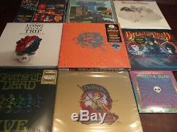 Grateful Dead Rare 5 Albums Box+ Shakedown St + 6 Lp Strange Trip Box + Bonuses