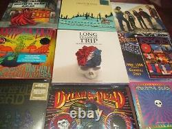 Grateful Dead Rare 6 Lp Strange Trip Box Individually Number+fillmore&more Live