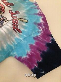 Grateful Dead STEAL YOUR BASE 1994 GDM Liquid Blue Vintage Shirt Summer MLB Rare