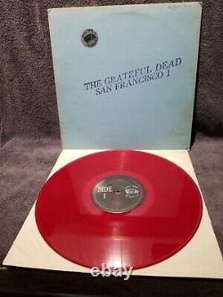 Grateful Dead San Francisco 1 Lp Tmoq Red Color Wax Rare