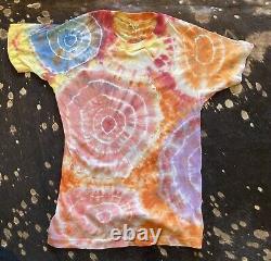 Grateful Dead Shirt S TYE DYE PARKING LOT FLYING EYE BALL RARE HTF VINTAGE