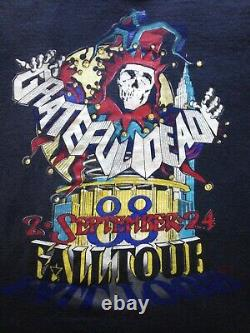 Grateful Dead Shirt Vintage 1988 GDM RICK GRIFFIN Madison Square Garden NYC Rare