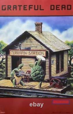 Grateful Dead Terrapin Station 2002 Rare Poster 23 X 35
