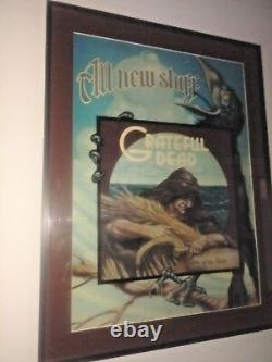 Grateful Dead Wake Of The Flood 1973 Promo Poster Rick Griffin Very Rare