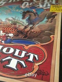 Grateful Dead Without A Net 1990 Album Triple LP Rick Griffin Rare Vinyl Sealed