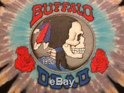 Grateful Dead shirt 1990 vintage GDM Crosby Stills Nash Rare Size Large Brockum