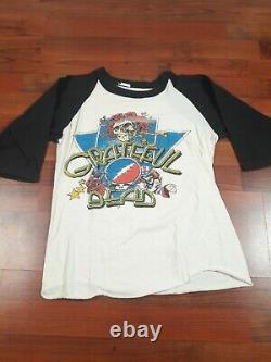 Grateful dead 1985 T Shirt spring tour shirt rare