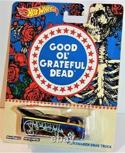 Hot Wheels Grateful Dead Pop Culture Series Complete Set Of 6 Rare 2013 New Htf