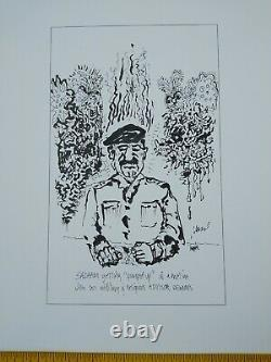 Jerry Garcia RARE PRESS Proof 8 Images Grateful Dead COA DB Artworks
