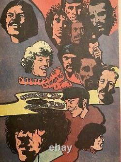 Miami Pop Festival Grateful Dead Chuck Berry Fleetwood 1968 Concert Program Rare