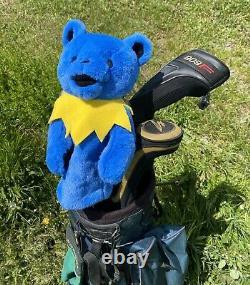 NEW RARE GRATEFUL DEAD Dancing Bear Hippy Golf Club Cover / Plush Puppet GIFT