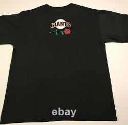 NOS RARE 1994 Grateful Dead SF Giants MLB TShirt Large Rock/Sports Memorabilia