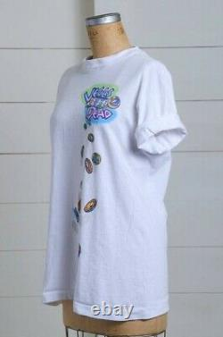 Never Worn Grateful dead shirt vintage rare 1994 Silver Bowl liquid blue Large
