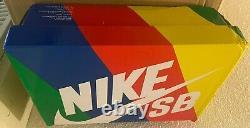 Nike Sb Dunk Low Pro Qs Grateful Dead Bears Orange Mens 11 Us (rare, Excl)