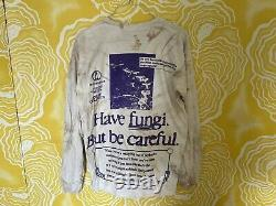 Online Ceramics Mushrooms house Medium T-shirt Grateful Dead Vegetarian rare
