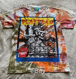 Online Ceramics Tie Dye T-Shirt New York City RARE SOLDOUT grateful dead
