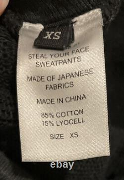 R13 Steal Your Face Grateful Dead Sweatpants XS Skull Drop Crotch Oversized RARE