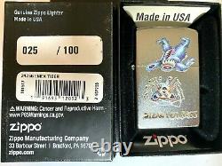 RARE EMEK LIGHTER Grateful Dead STEAL YER FACE Zippo LTD ED #/100 company poster