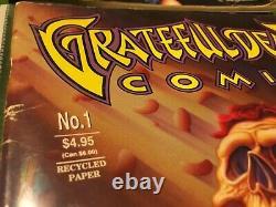 RARE GRATEFUL DEAD RELIX MAGAZINES Lot Of 10 BONUS Comix No. 1