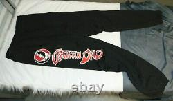 RARE Grateful Dead Sweatpants Large NEW Black 90s Joggers