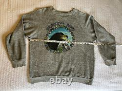 RARE Grateful Dead Vintage 1984 Sweat Shirt GDP Lundquist Eagle Eye Classic Rock