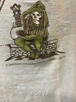 RARE Original 1979 Grateful Dead Kelley Mouse Long Strange Trip Concert T Shirt