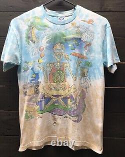 RARE VIntage Grateful Dead 1992 Joey Mars Beach Tie Dye Surf Adult Size XL (37)