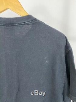 RARE VTG Jerry Garcia Steal Your Face Grateful Dead 1995 Black T-Shirt XL USA