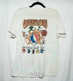 RARE Vintage 1992 Grateful Dead Fall Tour Single Stitch T Shirt L