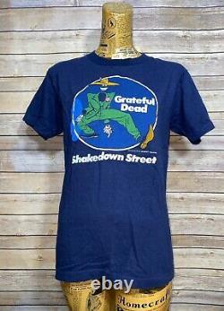 RARE Vintage 70s Grateful Dead Shakedown Street Gilbert Shelton T-Shirt L
