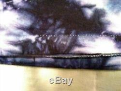RARE Vintage 80s Mikio Grateful Dead Tie Dye T-Shirt S/S Double Sided Mens L