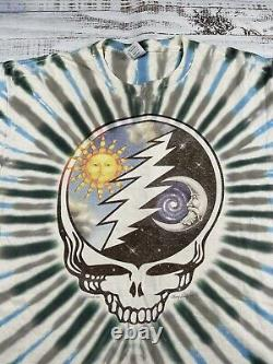 RARE Vintage Grateful Dead 1994 Summer Shirt Mens XL Band Tee TOMMY SCHATS