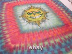 RaRe 1988 Jerry Jasper Garcia Grateful Dead Band BANDANA Scarf Sun Moon Tie Dye