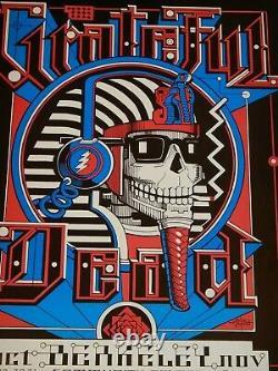 Rare 1984 Grateful Dead Berkeley Community Center Concert Poster, Rick Griffin