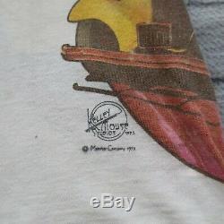Rare 70s Grateful Dead Mouse Kelley Test Print Tshirt Concert Vintage Monster Co