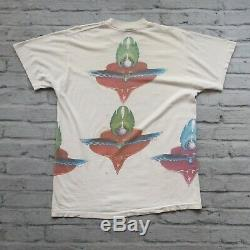 Rare 70s Grateful Dead Mouse Kelley Test Print Tshirt Concert Vintage Rock