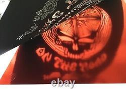 Rare Emek Grateful Dead Company poster 2009 laser cut foil Sperry Pearl Jam