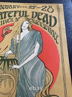 Rare FD 45 Grateful Dead 1967 Original Concert Poster From San Francisco