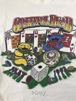 Rare Grateful Dead Concert Shirt Las Vegas May 14 16 1993 Fair Slammer Large