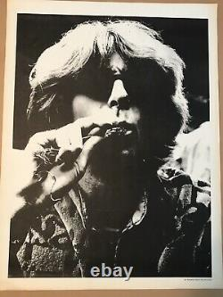 Rare Grateful Dead Poster 1967 Phil Lesh Smoking Joint Candid Photo 23x17.5