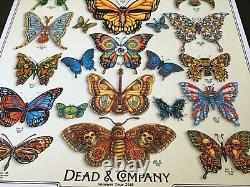 Rare Grateful Dead and Company Emek poster 2019 AP doodled John Mayer Phish