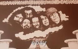 Rare Grateful Dead memorial auditorium Kansas City Original Concert Poster AAA+