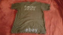 Rare Never Worn Vintage Grateful Dead Live to Tour Summer 1991 T-shirt