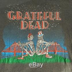 Rare Original Vintage 1981 Single Stitch Grateful Dead Shirt L