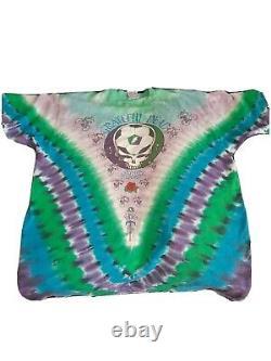 Rare USA Import Original Vintage Grateful Dead Tye Dye T Shirt Used XL