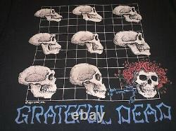 Rare VTG 1993 Grateful Dead Evolution Long Sleeve double sided Shirt size L