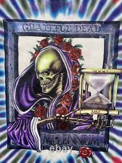 Rare VTG Grateful Dead Millenium 1997 Tie Dye T Shirt 90s Deadhead Size XL