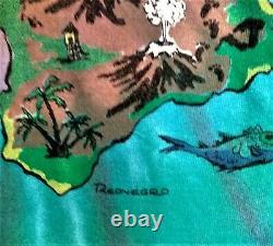 Rare Vintage 1990 Grateful Dead Jerry Garcia T Shirt Reonegro DGM M L Tie Dye 90
