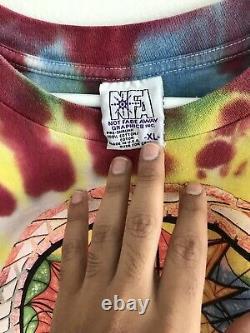 Rare Vintage 1994 Grateful Dead Tie Dye T-shirt Sz XL